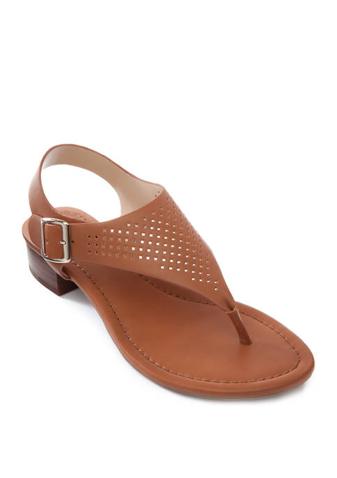 Crown & Ivy™ Mira Block Heel Sandals