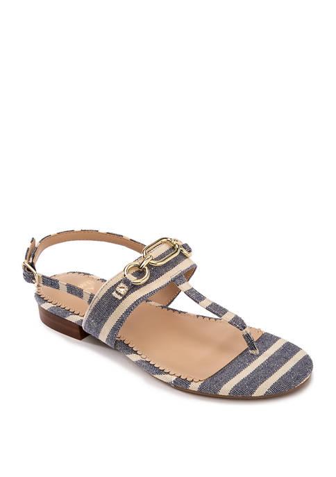 Crown & Ivy™ Willadeene Chain Thong Sandals