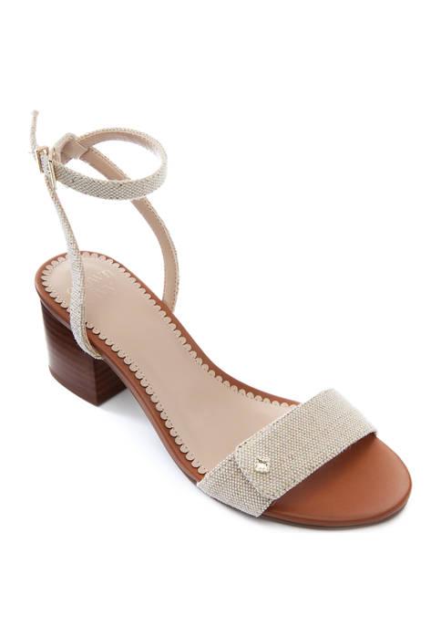 Crown & Ivy™ Elena Block Heel Sandals