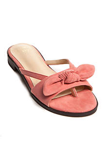 Emma Knotted Thong Sandals