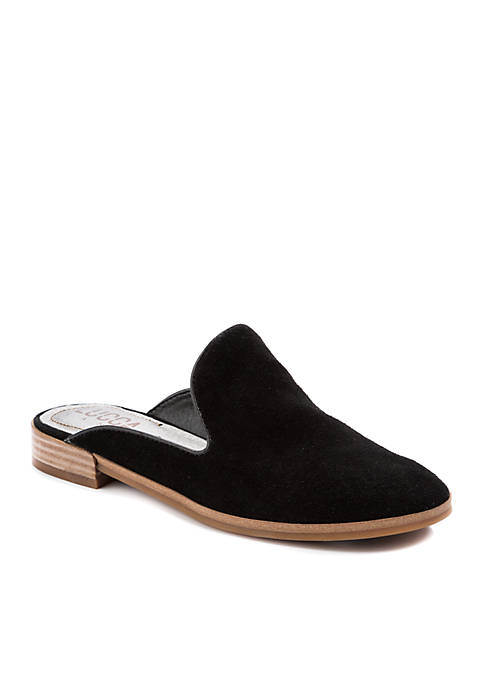 Tammy Suede Mule Flats