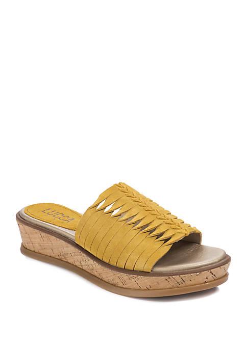 Kalista Slide Platform Sandals