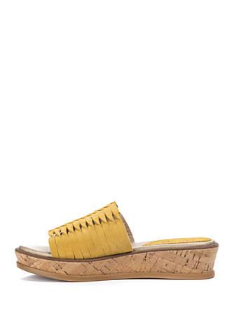f10b3293d1c LUCCA LANE Kalista Slide Platform Sandals LUCCA LANE Kalista Slide Platform  Sandals ...