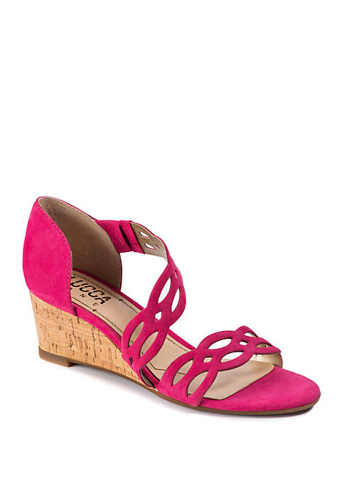 Evan Wedge Sandals