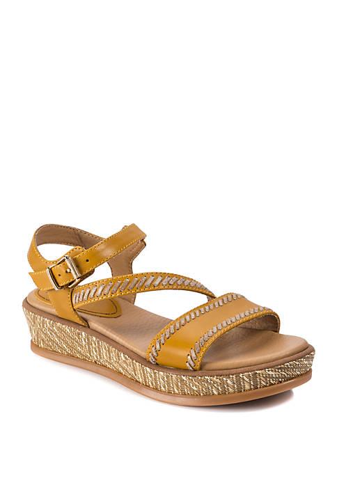 LUCCA LANE Kassy Platform Sandals