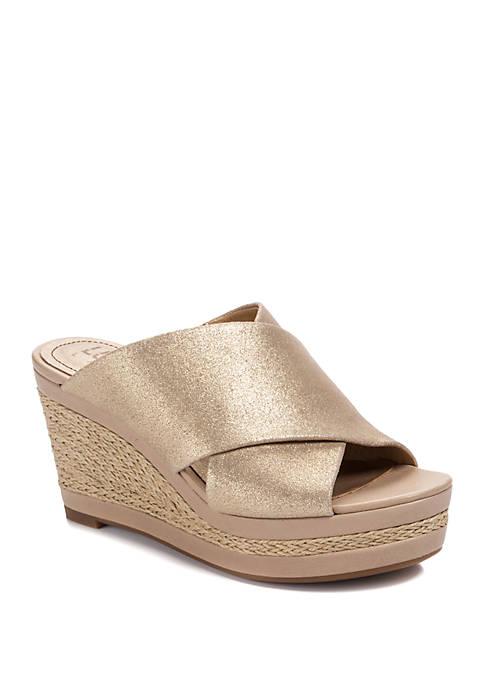 LUCCA LANE Debbi Espadrille Wedge Sandals