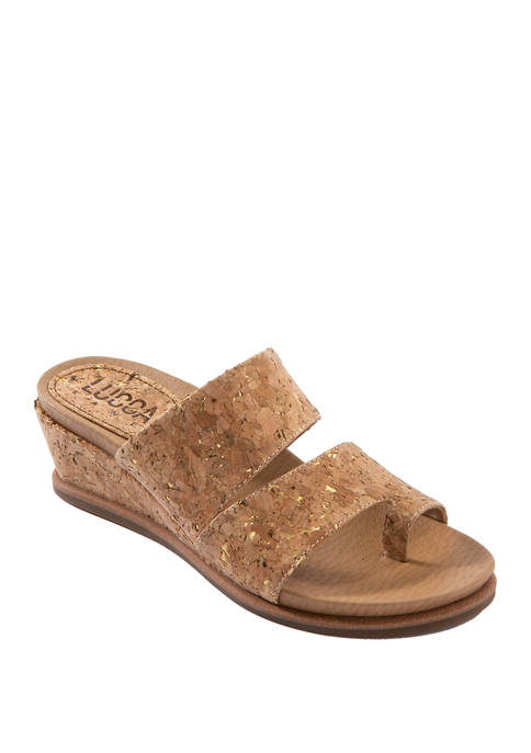 Whitley Toe Thong Wedge Sandals