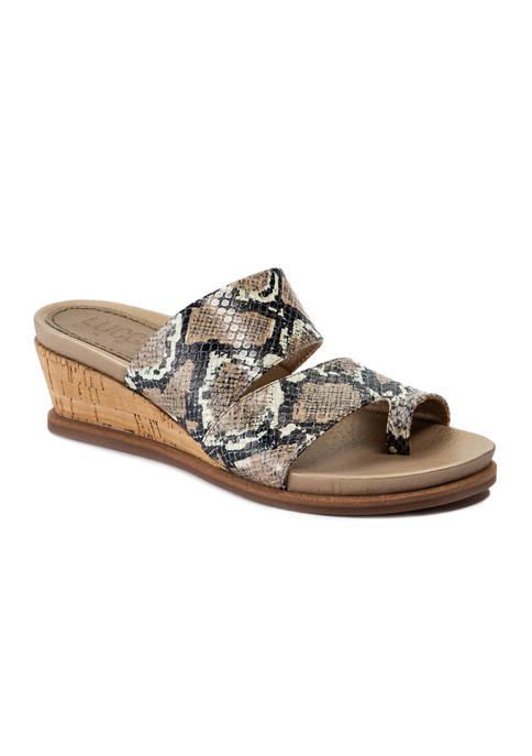 LUCCA LANE Whitley Slide Sandals