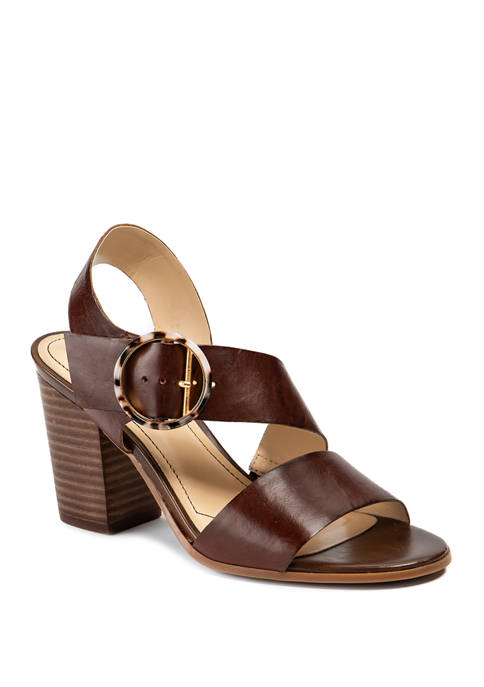 LUCCA LANE Torrance Leather Sandals