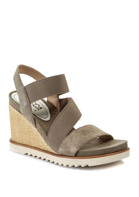 Delaney Wedge Sandals