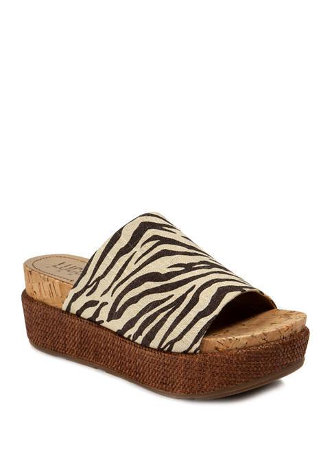 Olivya Wedge Sandals