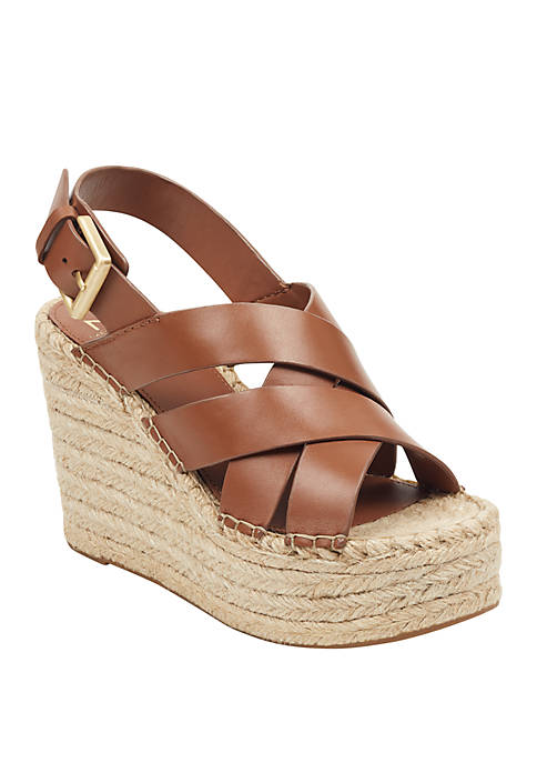 Marc Fisher LTD Alenni Espadrille Wedge Sandals