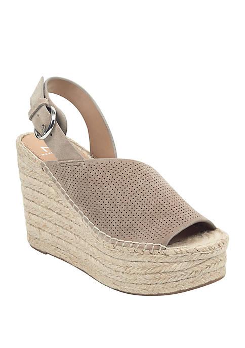 Marc Fisher LTD Andela Espadrille Wedge Sandals