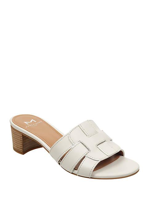 Marc Fisher LTD Debora Block Heel Sandals