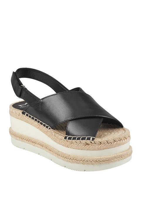 Marc Fisher LTD Gandy Platform Sandals