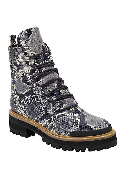 Marc Fisher LTD Lizzie Shearling Lace Up Hiking