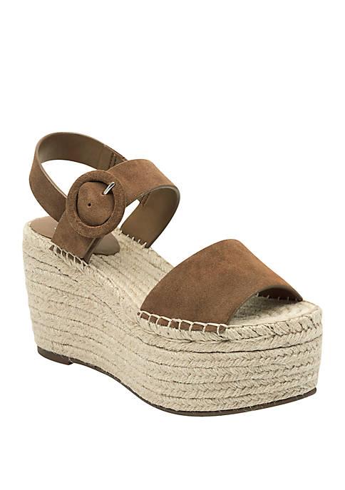 98da1aa6ac38 Marc Fisher LTD Rex Espadrille Wedge Sandals