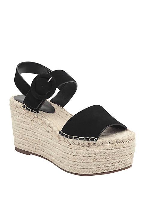 Marc Fisher LTD Rex Espadrille Wedge Sandals