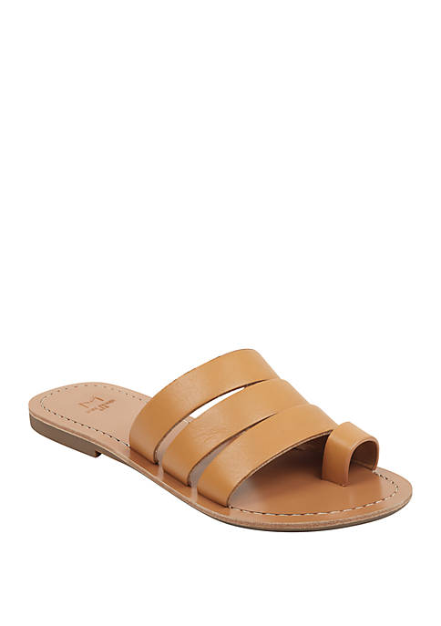 Marc Fisher LTD Rilee Toe Band Slide Sandals