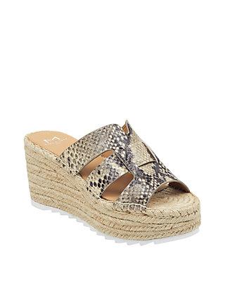 bca48b966236 Marc Fisher LTD Robbyn Espadrille Wedge Sandals
