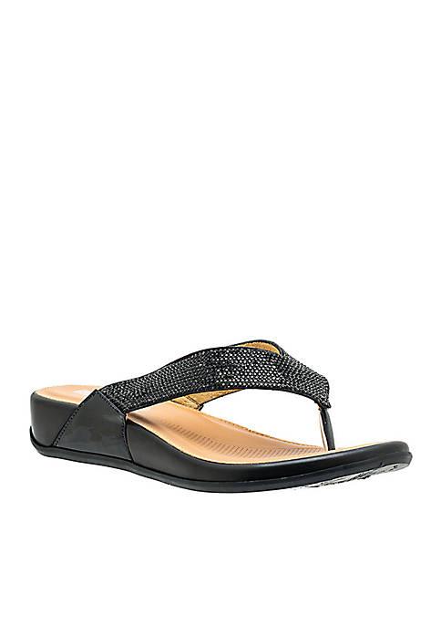 Good Choice Hana Embellished Thong Sandal