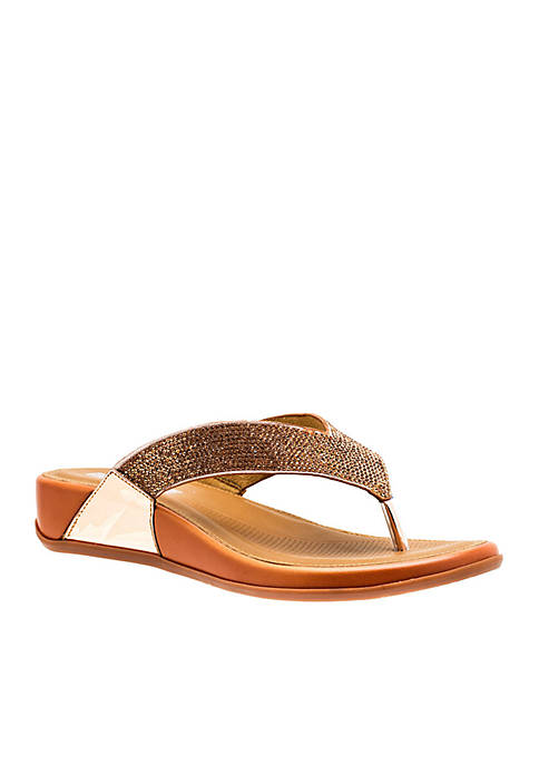 Good Choice Hana Embellished Thong Sandal