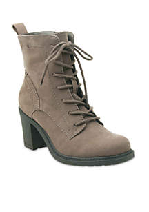 Leana Lace-Up Bootie