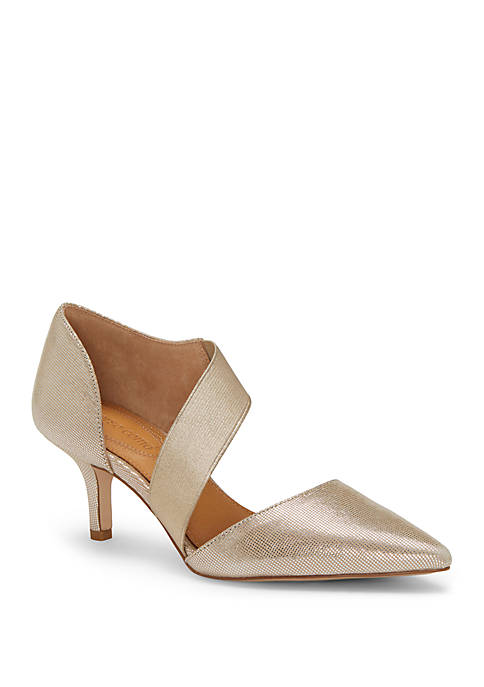 Denice Cross Strap Pumps