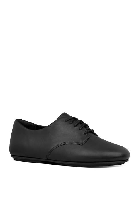 FitFlop Adeola Leather Lace Up Derbys