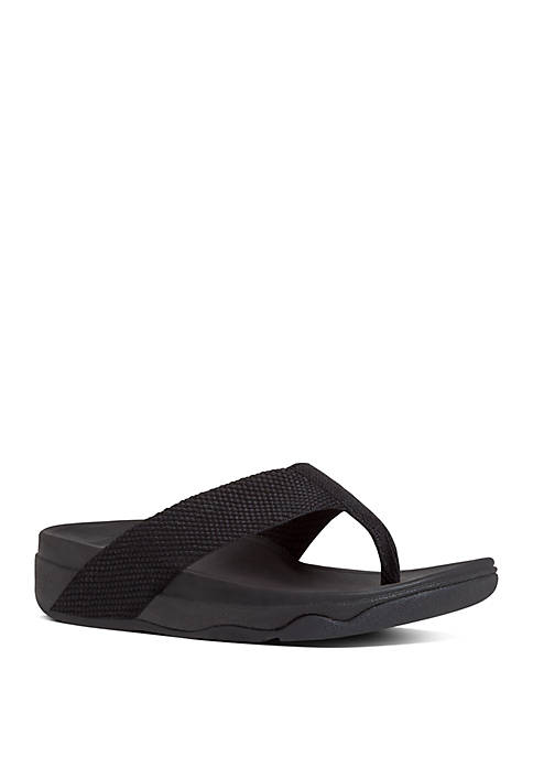 FitFlop Surfa™ Textile Toe Thong Sandals
