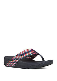 8bbb22ed72f0 ... FitFlop Surfa™ Textile Toe Thong Sandals
