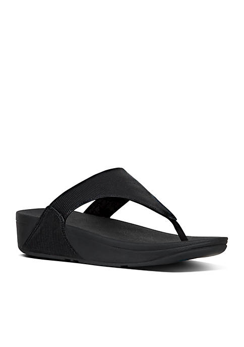 FitFlop Lulu™ Leather Toe Thong Sandals