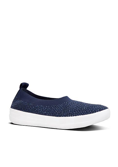 FitFlop Überknit Crystal Ballerina Shoes