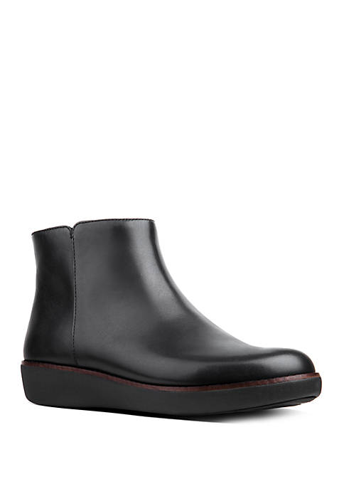 FitFlop Ziggy Zip Leather Ankle Boots