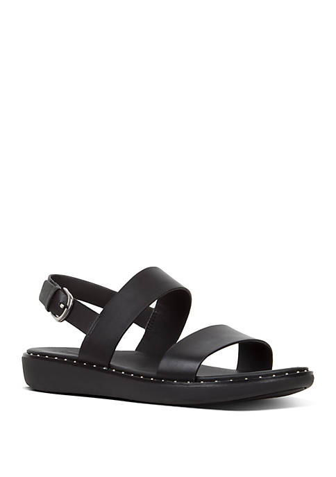 FitFlop Barra™ Leather Back Strap Sandals