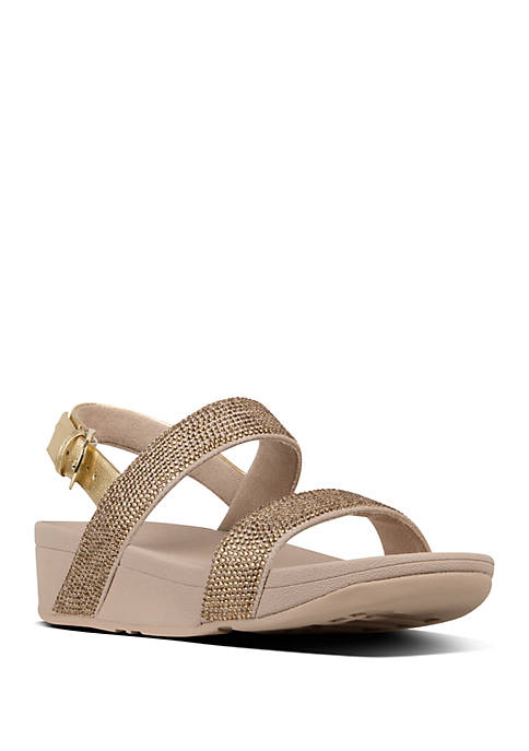 FitFlop Lottie™ Shimmer Crystal Back Strap Sandals