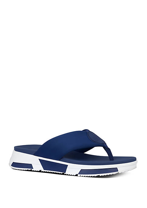 FitFlop Sporty Logo Toe Thong Sandals