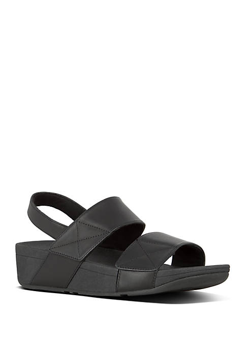 FitFlop Mina Leather Back Strap Sandals