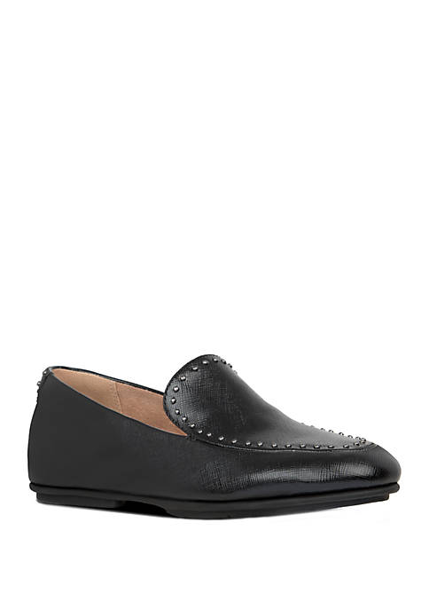 FitFlop Lena Micro Stud Patent Loafers