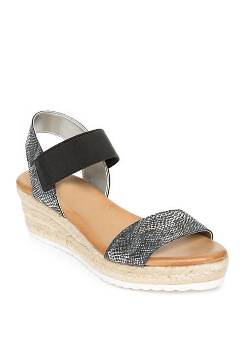 Anne Klein Cataline Flatform Sandals