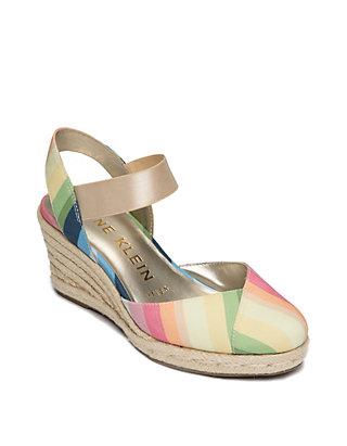 b74942a951b Anne Klein Acer Espadrille Wedge Sandals | belk