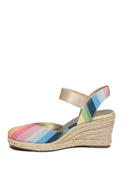 af1248c4080 Anne Klein. Anne Klein Acer Espadrille Wedge Sandals