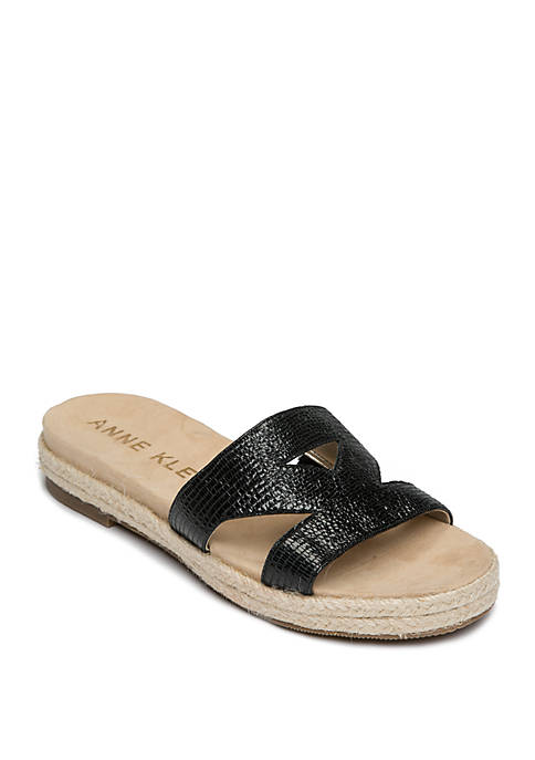 Anne Klein Doris Slide Sandals