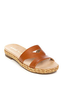 6ae080e1c143 ... Anne Klein Doris Slide Sandals