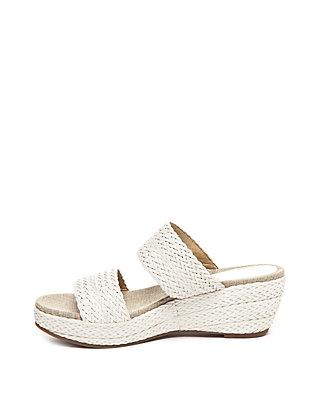 024df553770c8 Anne Klein Zala Woven Side Wedge Sandals | belk