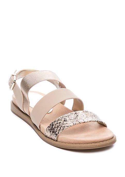 Anne Klein Essence Flat Sandals