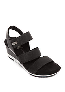 Anne Klein Summertime Sport Wedge Sandals