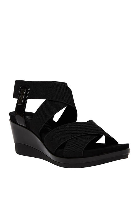 Anne Klein Petulia Wedge Sandals