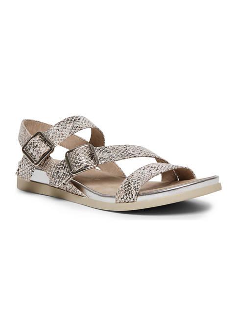 Anne Klein Sabian Sliver Wedge Sandals