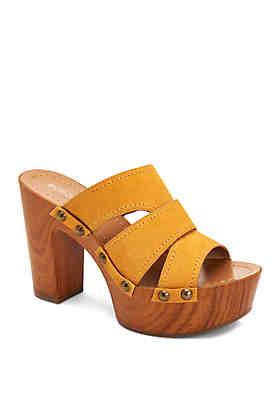 af0b56785ab1 BCBGeneration Zadie Wedge Mule Sandals ...